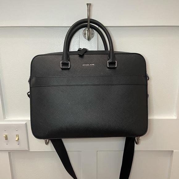 Michael Kors Black Laptop Bag
